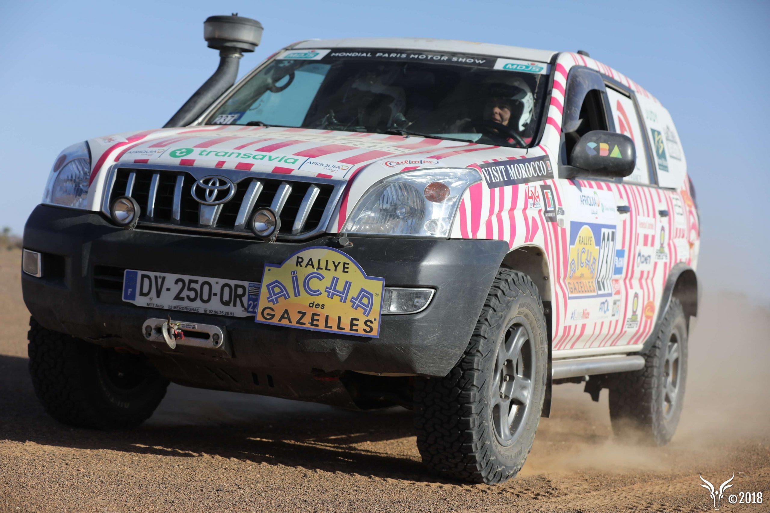 location 4x4 toyota KDJ rallye bretagne